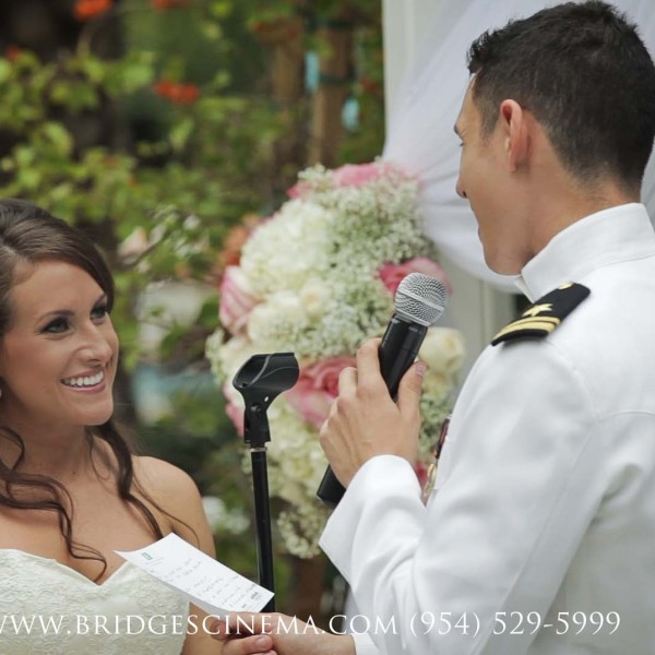 Military Wedding at the Palms Hotel & Spa, Miami, Florida {Jade + Dylan}