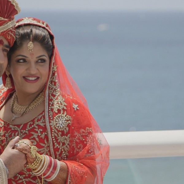 Ft. Lauderdale Beach Indian Wedding - A Grand Affair at The Hilton Ft. Lauderdale Beach Resort